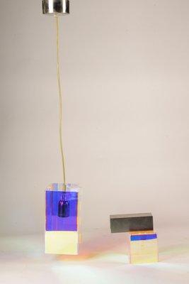 De Plexiglas Lampes Emporium1990sSet Suspension À Didodado En Applique Murale 2 Iriséamp; reBdoWCx