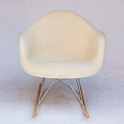 Terrific Mid Century Rar Rocking Chair By Charles Ray Eames For Herman Miller Inzonedesignstudio Interior Chair Design Inzonedesignstudiocom