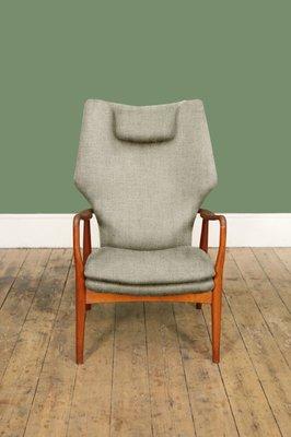 Poltrona con schienale alto personalizzabile di Madsen & Sch in ...