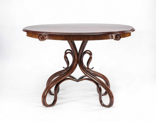 Antique Coffee Table.Antique Coffee Table From Thonet
