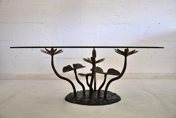 Table Basse Lotus Vintage Par Willy Daro