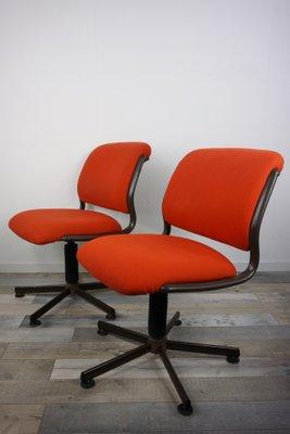 Roneo Pivotante Bureau Chaise Vintage De wXiOPkZTu