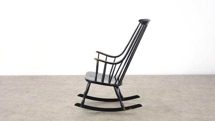 Amazing Bohem 2402 Rocking Chair By Lena Larsson For Nesto 1960S Creativecarmelina Interior Chair Design Creativecarmelinacom