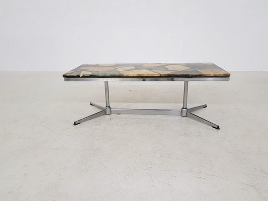 Vintage Faux Marble Coffee Table