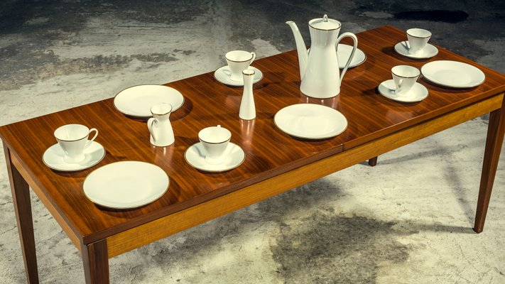 Form 200 Coffee Service by Raymond Loewy & Richard Latham for Rosenthal,  1950s