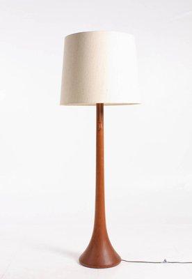 wholesale dealer baa96 75832 Scandinavian Teak Floor Lamp, 1960s