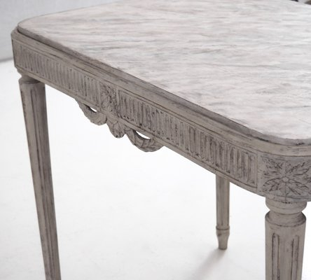 Antique Richly Carved Gustavian Style