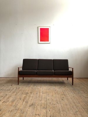 Pleasant Mid Century Modern Danish Teak Sofa By Grete Jalk For France Son Onthecornerstone Fun Painted Chair Ideas Images Onthecornerstoneorg