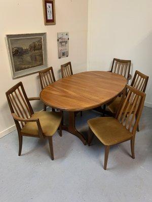 Esstisch 6 Stuhle Von G Plan Bei Pamono Kaufen