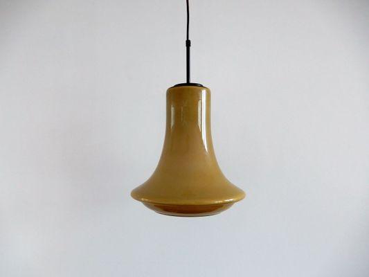 Lampade In Vetro Anni 70 : Lampada a sospensione vintage in vetro anni in vendita su pamono