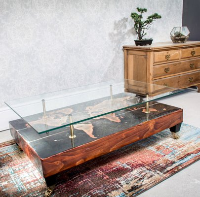 Peachy World Map Coffee Table From Cappa E Spada Evergreenethics Interior Chair Design Evergreenethicsorg
