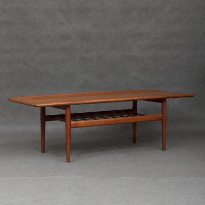 Teak Coffee Table By Grete Jalk For Glostrup 1960s