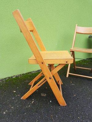 2 VintageAllemagne1950sSet Chaises Chaises De Pliantes Pliantes KJTl1Fc