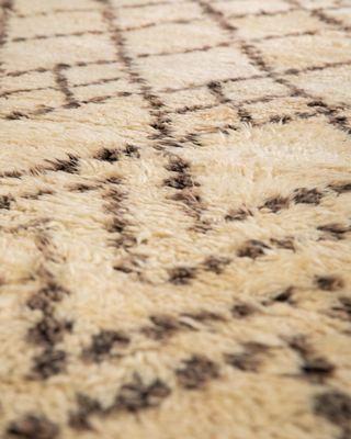 Vintage Beni Ouarain Carpet For At
