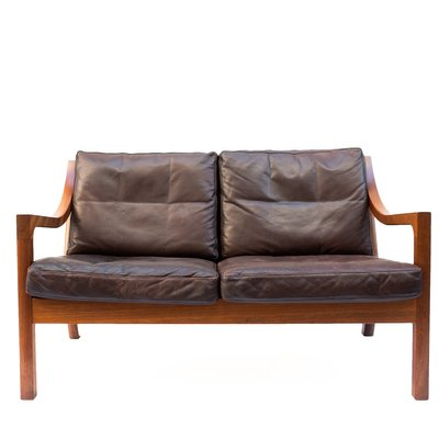 Vintage 2-Seater Leather Sofa $1458.00