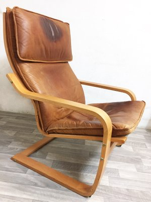 Poäng Lounge Chair By Oru Nakamura For Ikea 1990s 1