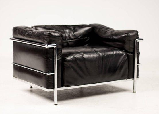 Poltrona lc chair di le corbusier per cassina in vendita su