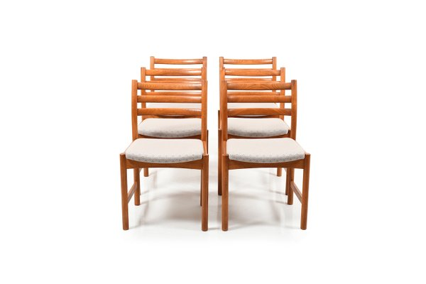 Danish Dining Chairs By Poul Volther For Soro Stolefabrik 1960s Set Of 6 1