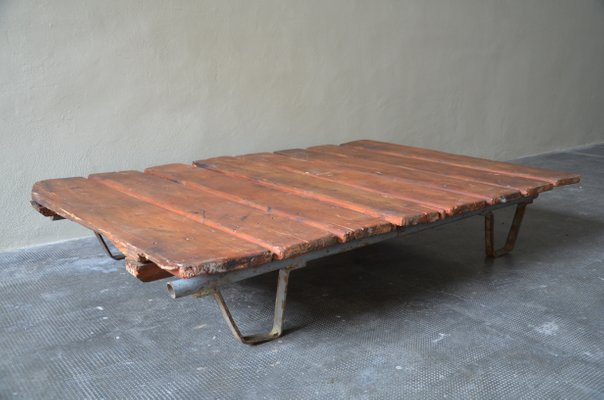 Vintage Industrial Coffee Table, 1960s