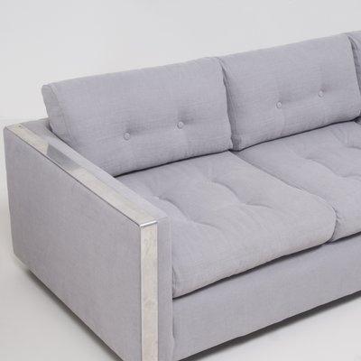 Swell Mid Century Grey Fabric 3 Seater Sofa 1960S Cjindustries Chair Design For Home Cjindustriesco
