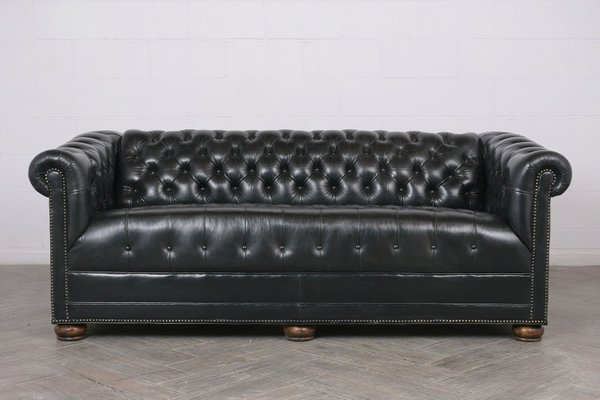 Vintage Chesterfield Style Tufted