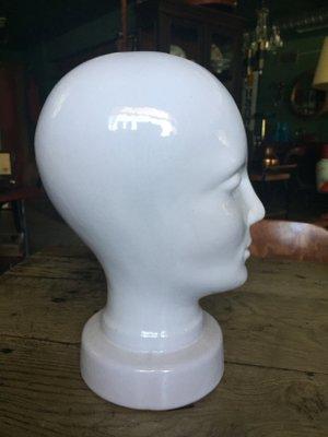 il migliore qualità rivenditore all'ingrosso Forma per cappelli vintage in ceramica smaltata in vendita su Pamono
