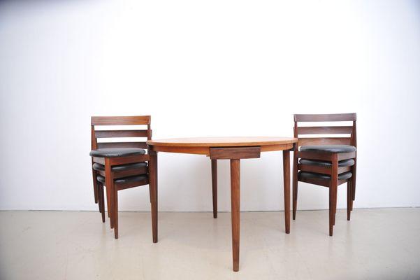 Esstisch 6 Stuhle Von Hans Olsen Fur Frem Rojle 1960er Bei Pamono
