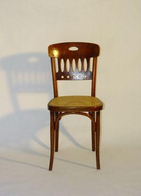 Bistrot Kohn1910s Jacobamp; Josef Antique Chaise De 380 WredCxBo