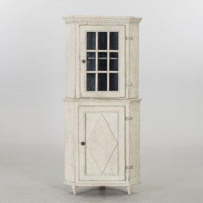 Antique Swedish Corner Cabinet 1820s For Sale At Pamono