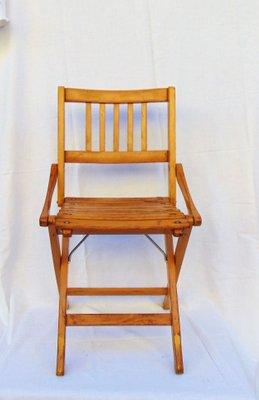 Chaise DEnfant Pliante Vintage De Fratelli Reguitti 1