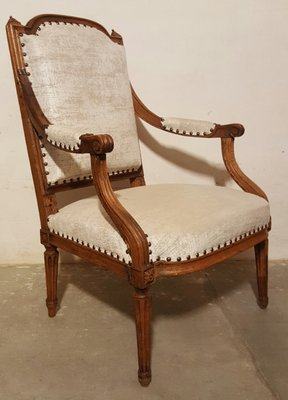 Antique Louis Xvi Side Chair 1780s For