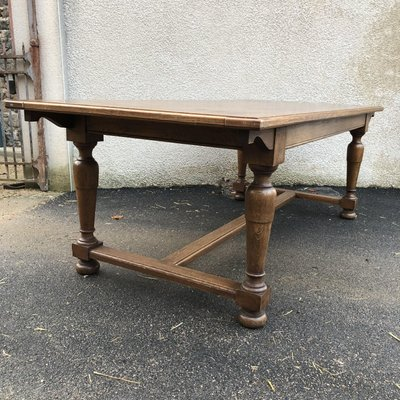 Antique French Dining Table 1910s For