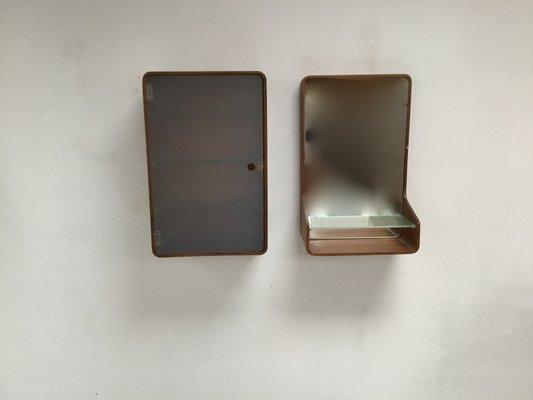 Espejo de cuarto de baño y armario de Friso Kramer para Auping, años 60