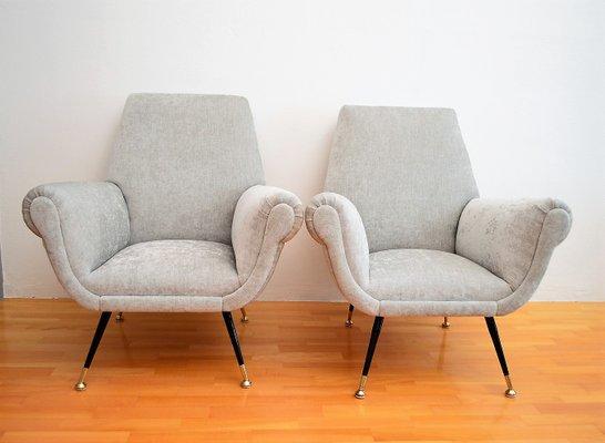 Italienische Vintage Sessel 1950er 2er Set Bei Pamono Kaufen