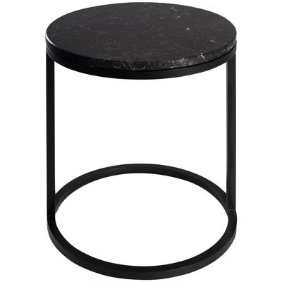 Modern Diana Round Coffee Table With Powder Coated Steel And