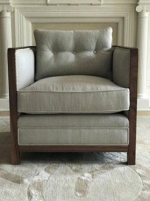 Extra Large Deconstructed Boxy Bacco, Extra Large Living Room Chairs