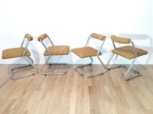 Vintage Chairs 1970s Set Of 4 1
