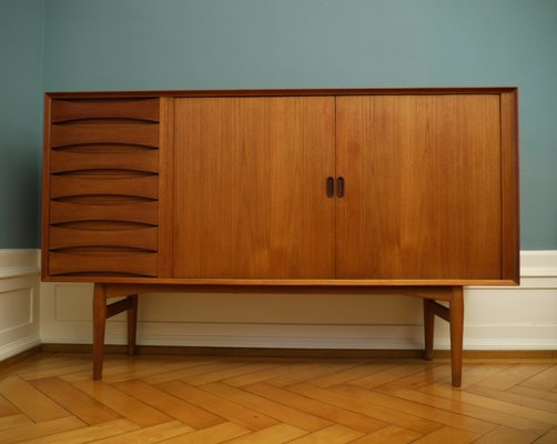 Danish Design Credenza : Mid century danish model os teak sideboard by arne vodder for