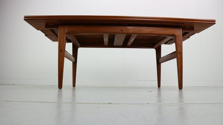 Pour Par Kai Élevatrice Kristiansen Vildbjerg Møbelfabrik1960s Table Extensible vN80wmOn
