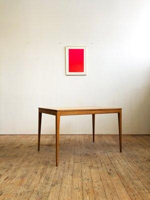 Mesa de comedor pequeña rectangular de Thonet, años 60