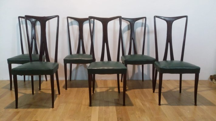 Dining Table 6 Chairs 1950s