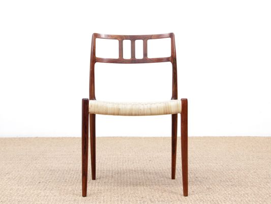 Superb Rio Rosewood Model 79 Dining Chairs By Niels Otto N O Moller For J L Mollers 1960S Set Of 6 Unemploymentrelief Wooden Chair Designs For Living Room Unemploymentrelieforg