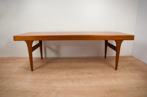 Scandinavian Teak Coffee Table By Johannes Andersen For Cfc
