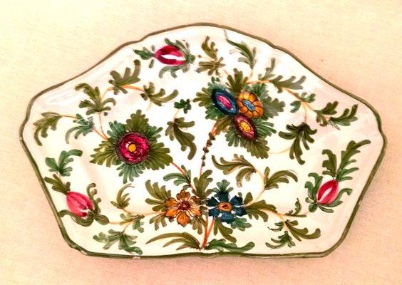 Piatti in ceramica dipinta a mano di Imola, Italia, anni \'30, set di 6