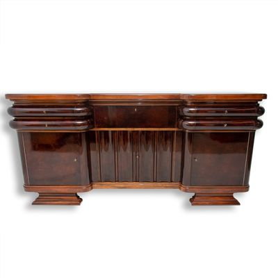 French Art Deco Walnut Buffet 1930s For Sale At Pamono