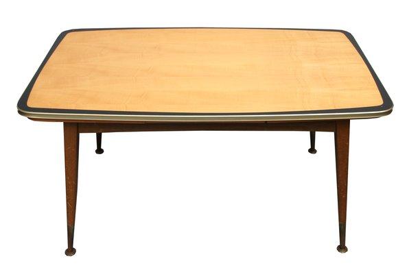Maple Wood Coffee Table.Maple Height Adjustable Coffee Table 1950s