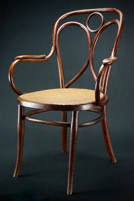 Exceptionnel Antique Austrian Chair By Michael Thonet For Gebrueder Thonet Vienna, 1878 1