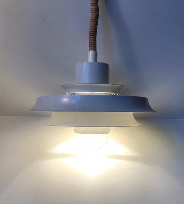 Vintage Danish Rise Fall Pendant Lamp