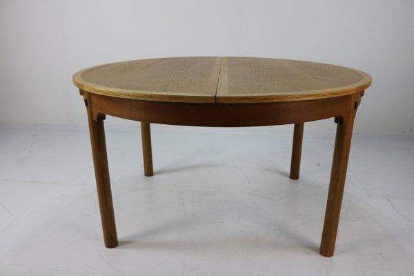 Vintage Scandinavian Oak Extendable Dining Table By Børge Mogensen For Karl  Andersson U0026 Söner