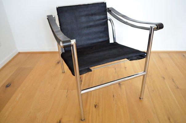 LC1 Sessel von Le Corbusier, Pierre Jeanneret & Charlotte Perriand für  Cassina, 1970er